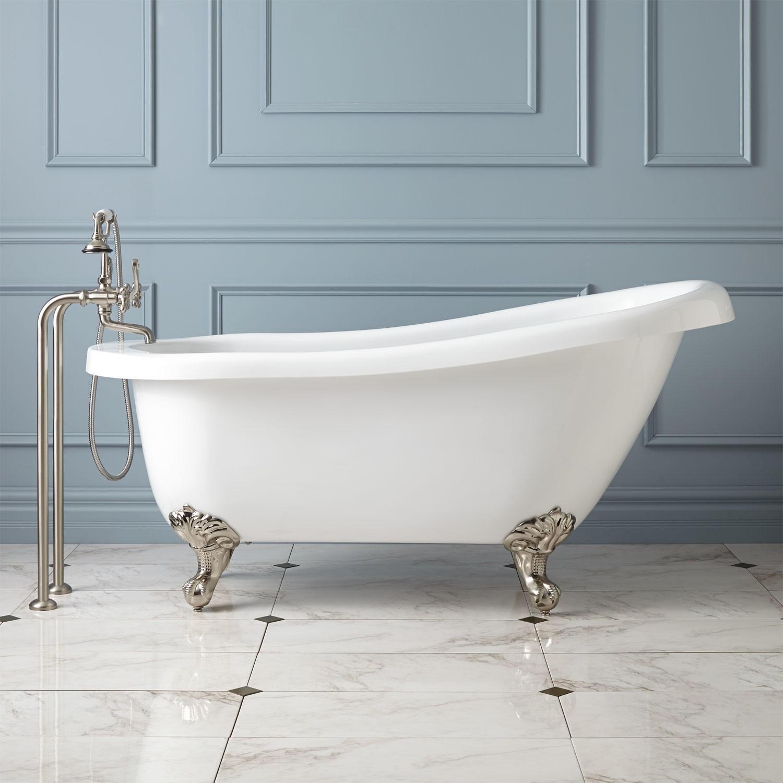 Valley Acrylic Imperial Claw Foot Bathtub - Baths By Design